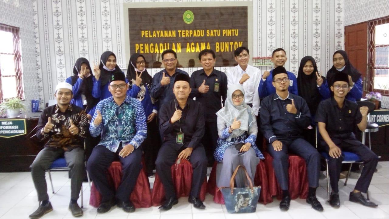 Kunjungan Silaturrahim UIN Antasari Banjarmasin ke Pengadilan Agama Buntok